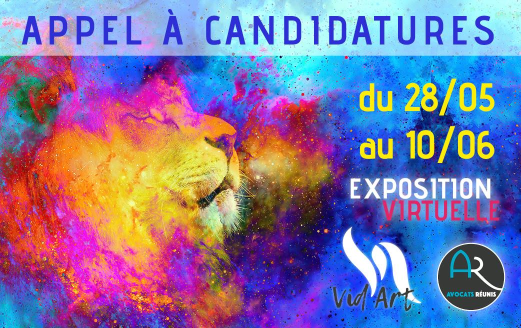 Vid'Art exposition virtuelle peinture artistes martiniquais avocats réunis
