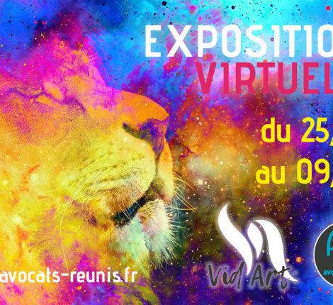Vid'Art 2021 exposition virtuelle 3D artistes martinique les avocats réunis