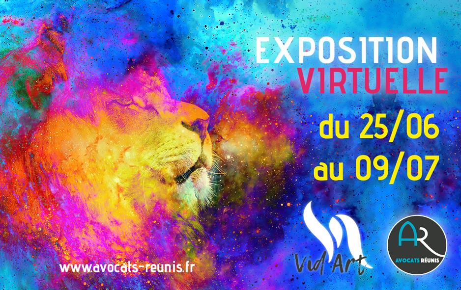 Vid Art 2021 exposition virtuelle artistique organisée par les Avocats Réunis cabinet d'avocats en Martinique, Guadeloupe et Paris